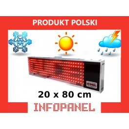 INFOPANEL 20X80