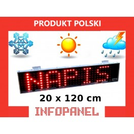 INFOPANEL 20X120