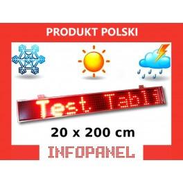 INFOPANEL 20X200