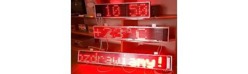 Zegary LED
